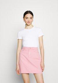 Monki - Print T-shirt - white - 1