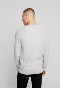 Esprit - HONEYCOMB - Stickad tröja - light grey - 2