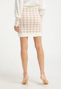 faina - A-line skirt - weiss beige - 2