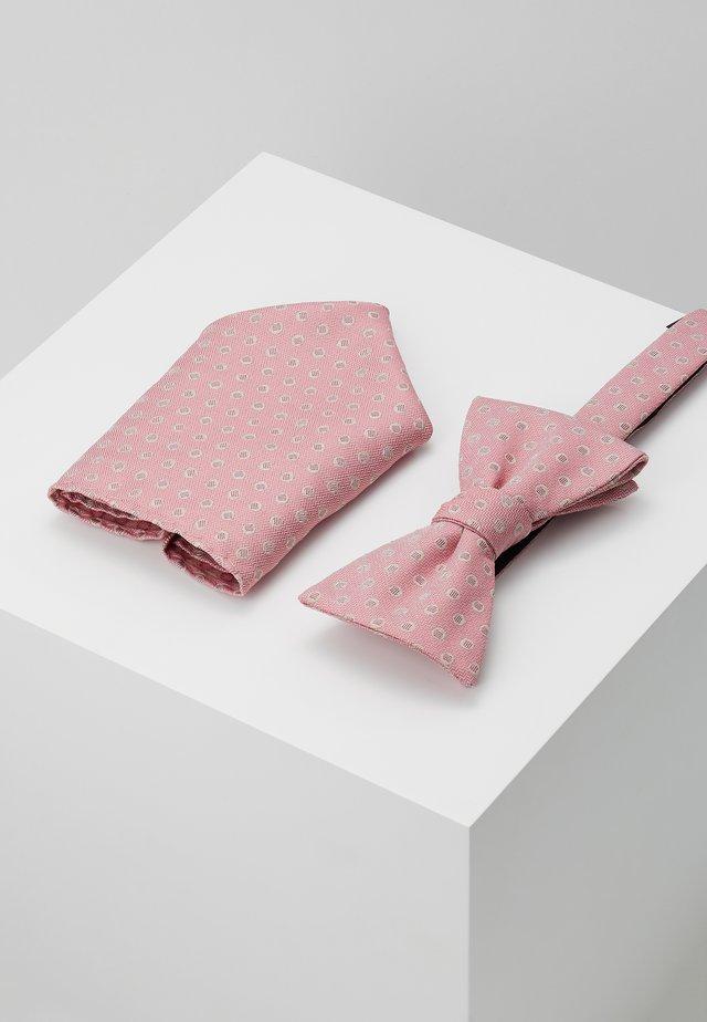 SLHHAGEN BOWTIE BOX SET - Kapesník do obleku - lobster bisque