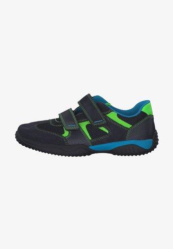 Trainers - blau/grün