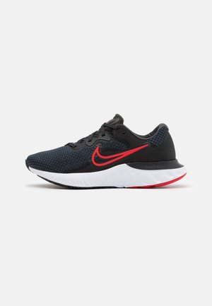 RENEW RUN 2 - Zapatillas de running neutras - black/university red/dark smoke grey/white