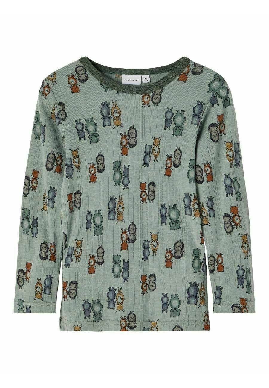 Kinder NMMWANG  - Langarmshirt