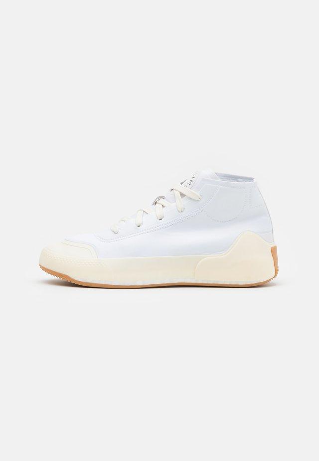 ASMC TREINO MID - Sportschoenen - footwear white/offwhite/peal rose