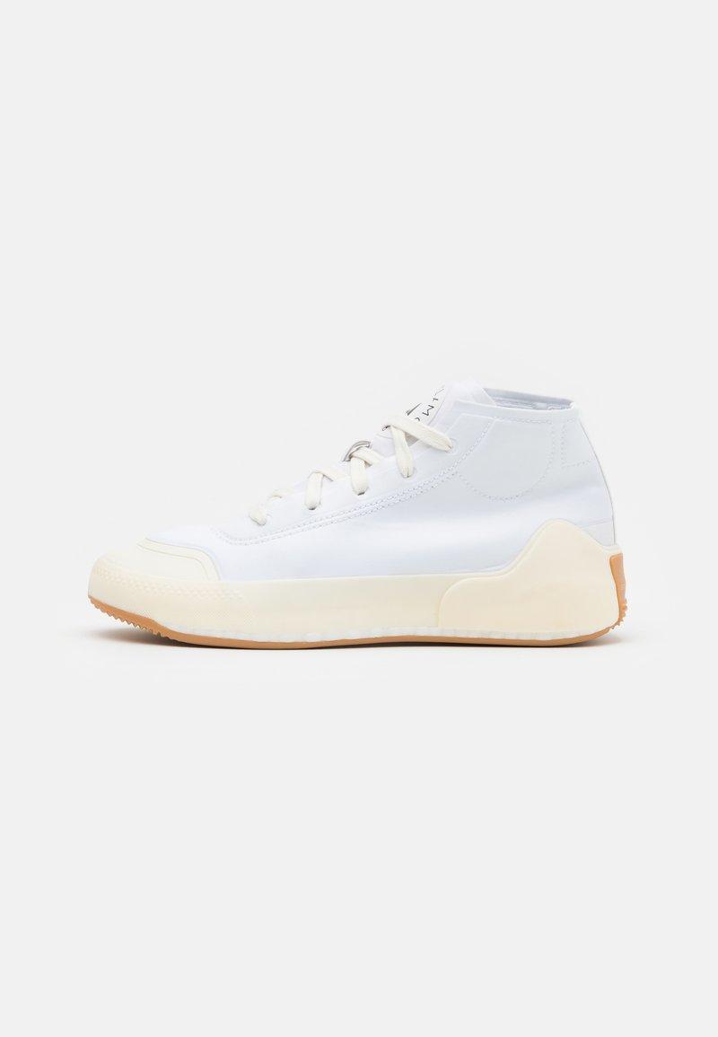 adidas by Stella McCartney - ASMC TREINO MID - Sportovní boty - footwear white/offwhite/peal rose