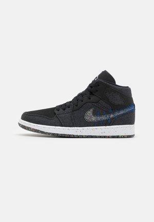 AIR 1 MID SE REC - Sneakers alte - black/multi-color/racer blue/white