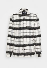 CHECK FLUFFY - Summer jacket - black