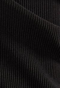 Bershka - Trousers - black - 5