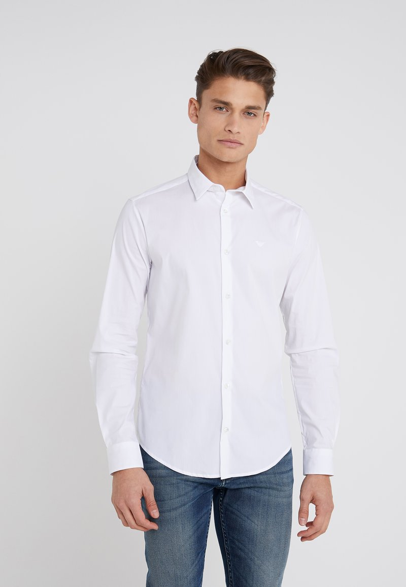 Emporio Armani - Camisa elegante - white