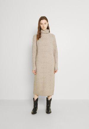 OBJCATON  - Strikket kjole - silver gray