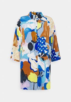 NUCICELY LONG SHIRT - Button-down blouse - princess blue