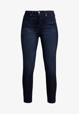 WAIST CROP - Jeans Skinny - blue