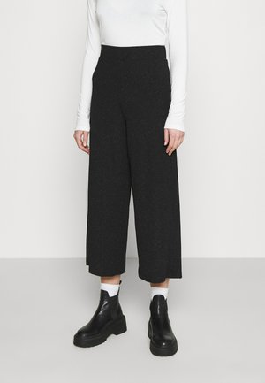 CILLA PARTY TROUSERS - Kalhoty - black