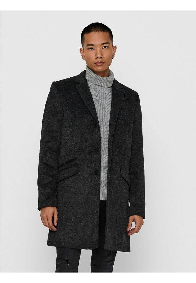 Abrigo clásico - dark grey melange