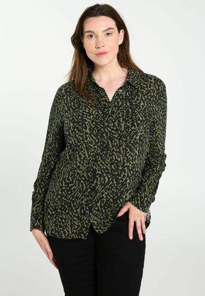 MIT TIERFELL PRINT - Overhemdblouse - green