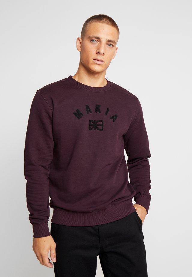 BRAND - Sweatshirt - wine