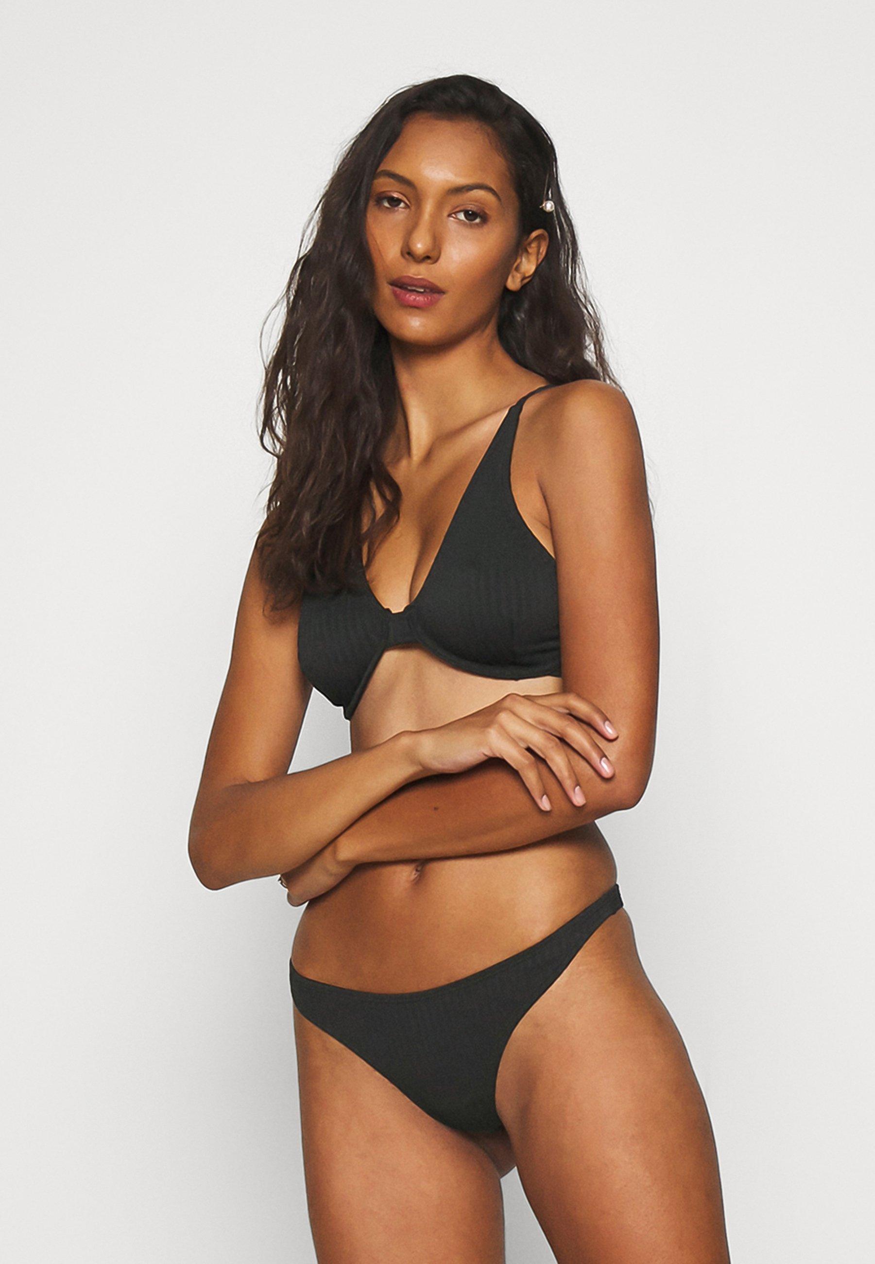 Women HALF WIRE BRA TOP HIGH SIDE THONG  - Bikini