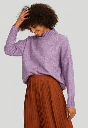 Sweter - lavender melange