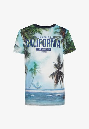 MET PALMBOMENDESSIN - Print T-shirt - multi-coloured