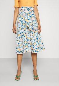 Monki - A-line skirt - multi-coloured - 0