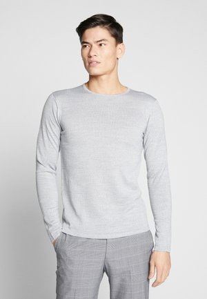 O NECK - Jumper - light grey melange