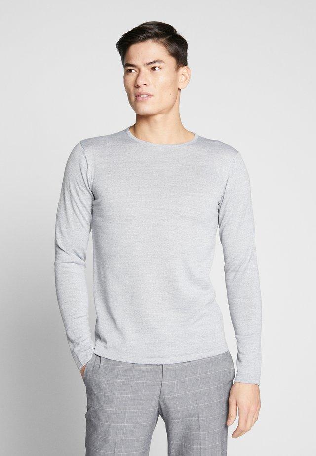 O NECK - Maglione - light grey melange