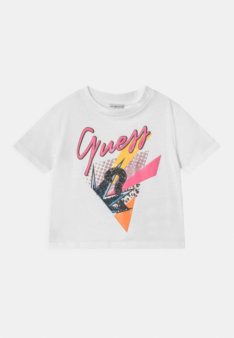 Guess - JUNIOR  - Camiseta estampada - true white