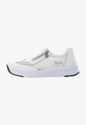 N7175 - Sneakers laag - white silver