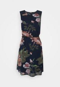 Vero Moda - VMKATNISS SHORT DRESS - Day dress - navy blazer/katniss - 4