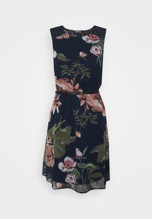 VMKATNISS SHORT DRESS - Day dress - navy blazer/katniss