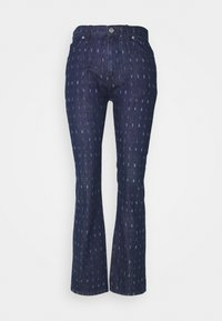 Victoria Victoria Beckham - WORD SEARCH UPSTATE - Flared Jeans - dark blue - 5