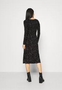 Anna Field - Jersey dress - black/white - 2