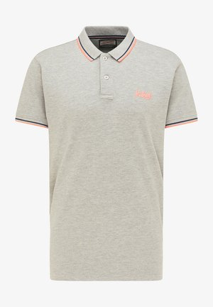 Polo shirt - light grey melee