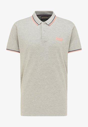 Koszulka polo - light grey melee