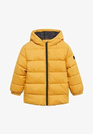 AMERICA - Winter coat - moutarde