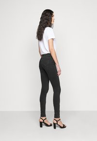 ONLY Tall - ONLCARMEN LIFE ZIP - Jeans Skinny Fit - black - 2