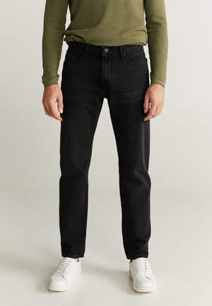BOB - Straight leg jeans - black denim