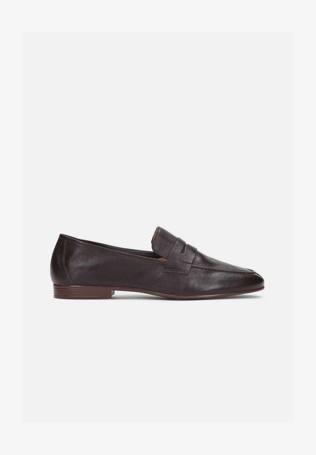 GIANNI - Loaferit/pistokkaat - brown