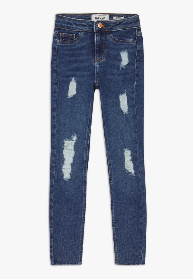 BAMBI DARK MID DISCO - Jeans Skinny - navy