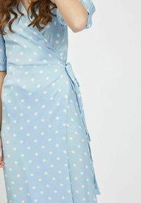 Vila - Maxi dress - cashmere blue - 4