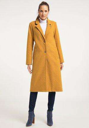 Classic coat - senf