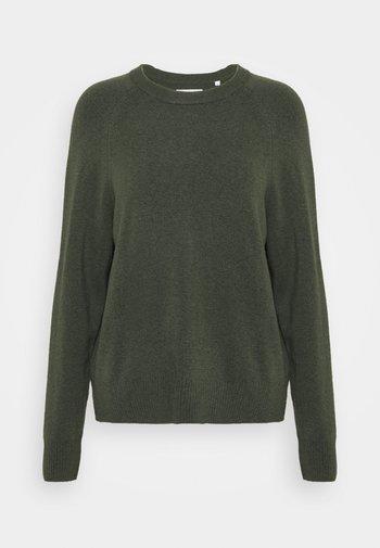 CREW NECK WITH RAGLAN SLEEVE - Jumper - olivia gray
