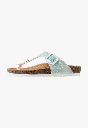 Sandály s odděleným palcem - light blue