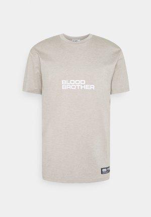 HAYES - Print T-shirt - warm grey