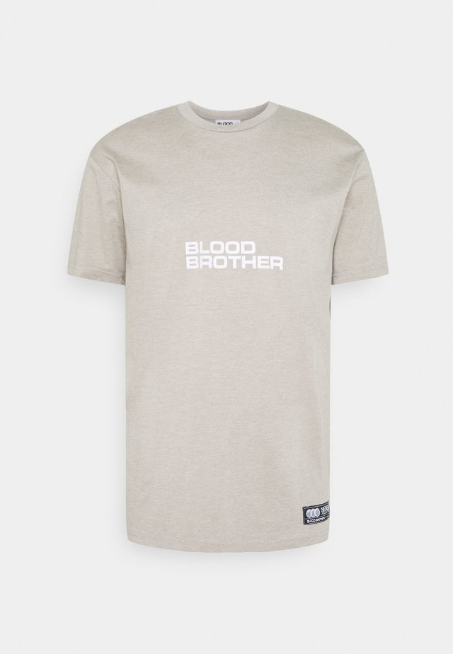 HAYES - T-shirt con stampa - warm grey