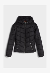 Bershka - Winterjas - black - 4