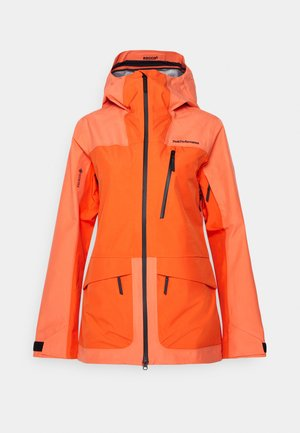 VERTICAL 3 L JACKET - Ski jas - light orange
