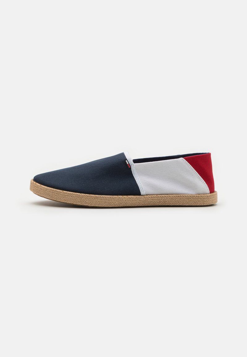 Tommy Jeans - ESSENTIAL - Espadrilles - red/white/blue