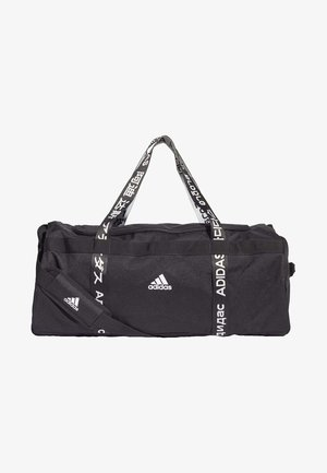 4ATHLTS 3 STRIPES DUFFEL BAG - Bolsa de deporte - black
