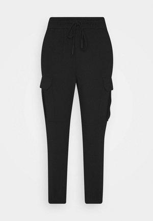 VMEVA STRING PANT  - Tracksuit bottoms - black